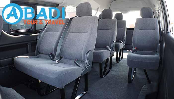 Sewa Rental Toyota Hiace di Probolinggo Murah Terbaru
